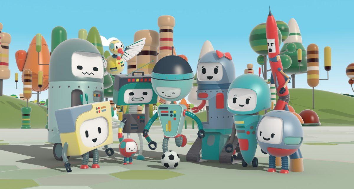 Robotia y sus personajes